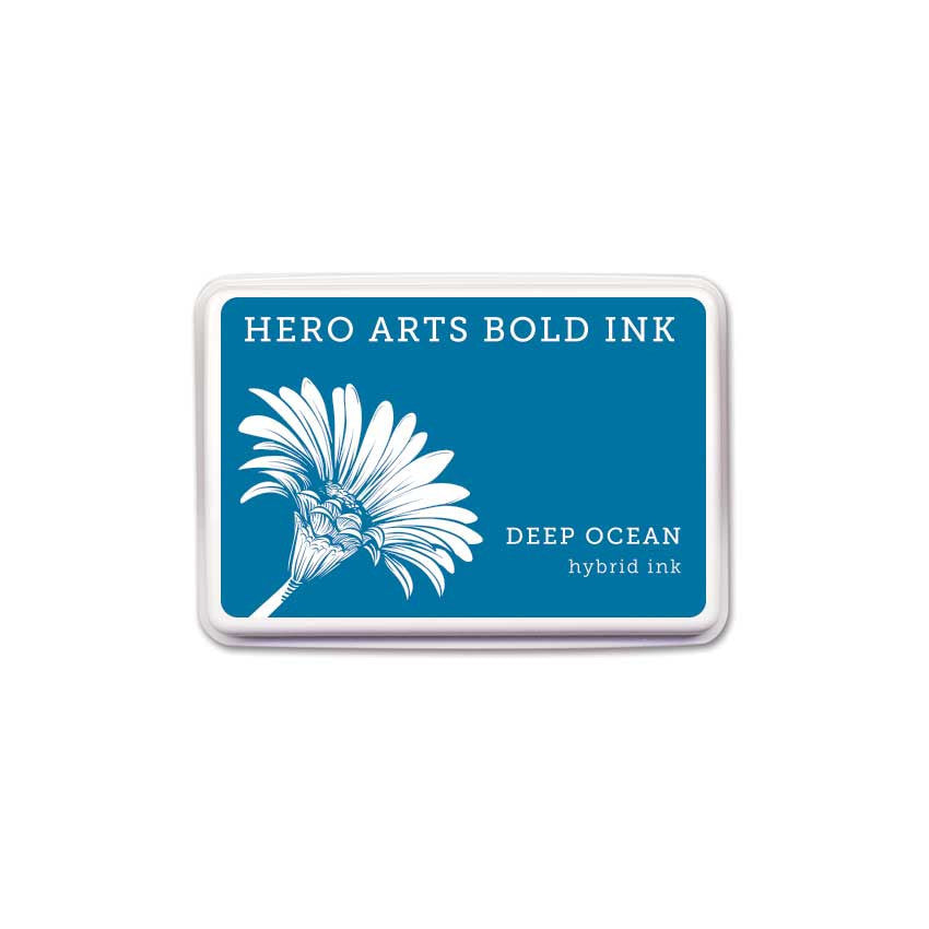 Hero Arts Bold Ink DEEP OCEAN