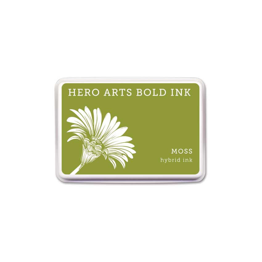 Hero Arts Moss Bold Ink