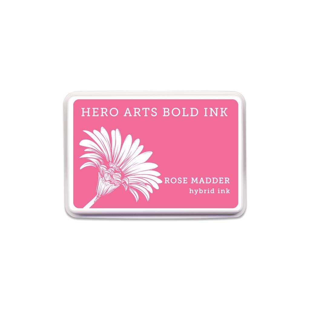 Hero Arts Bold Ink Rose Madder
