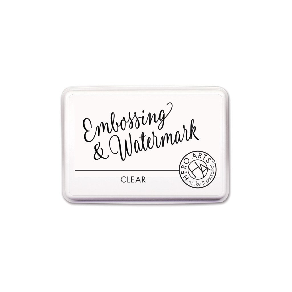 Clear Embossing & Watermark Ink
