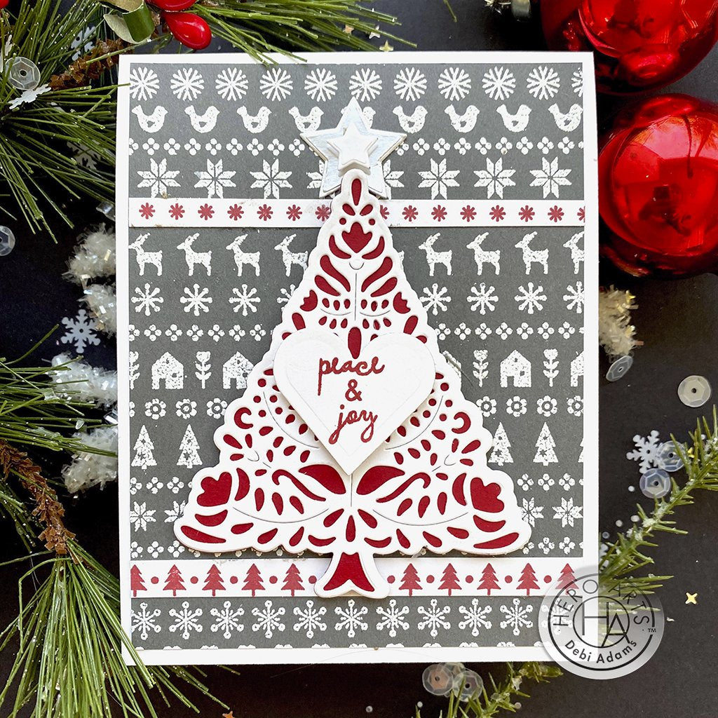 CG823 Holiday Graphic Pattern Bold Prints