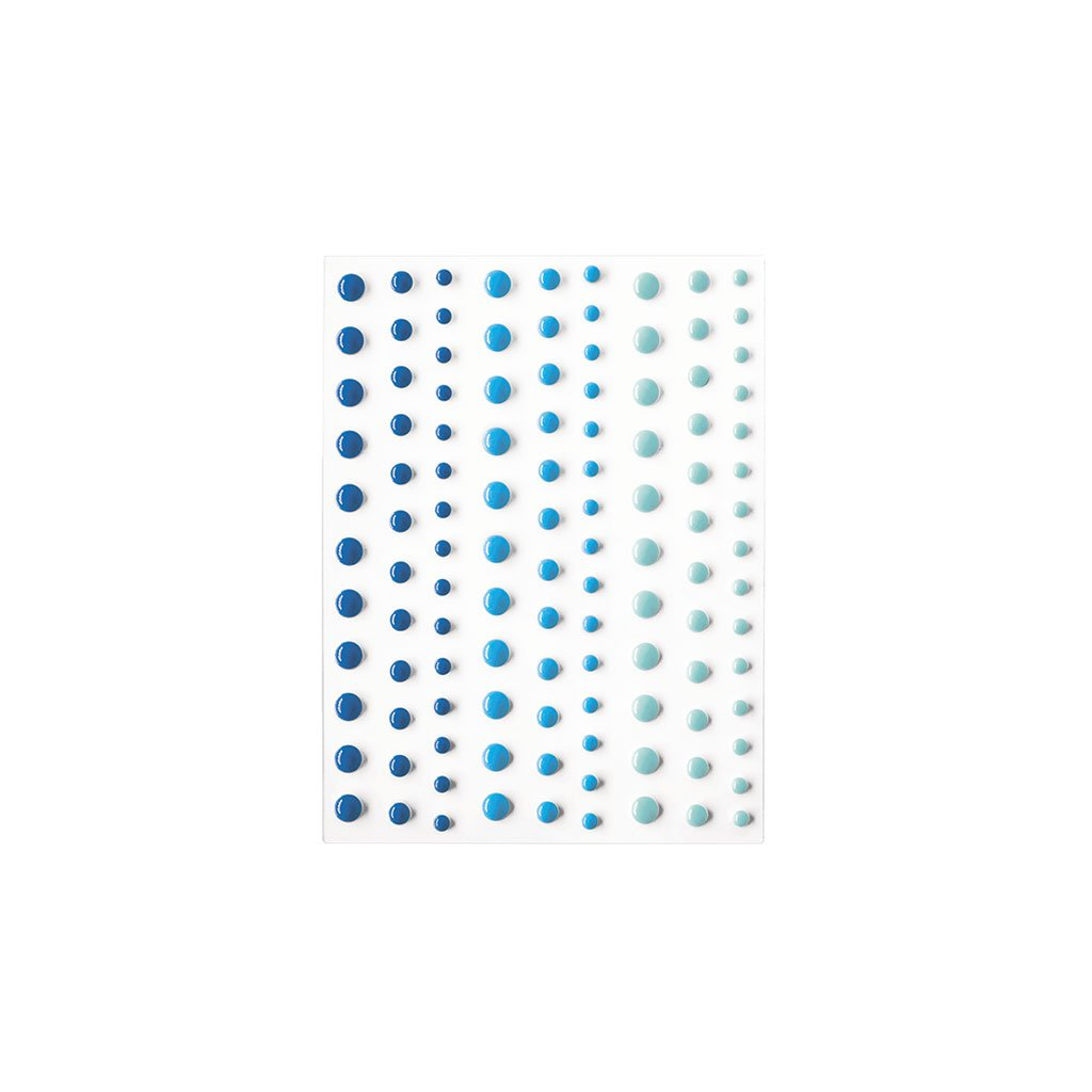 CH326 Blues Hero Hues Enamel Dots