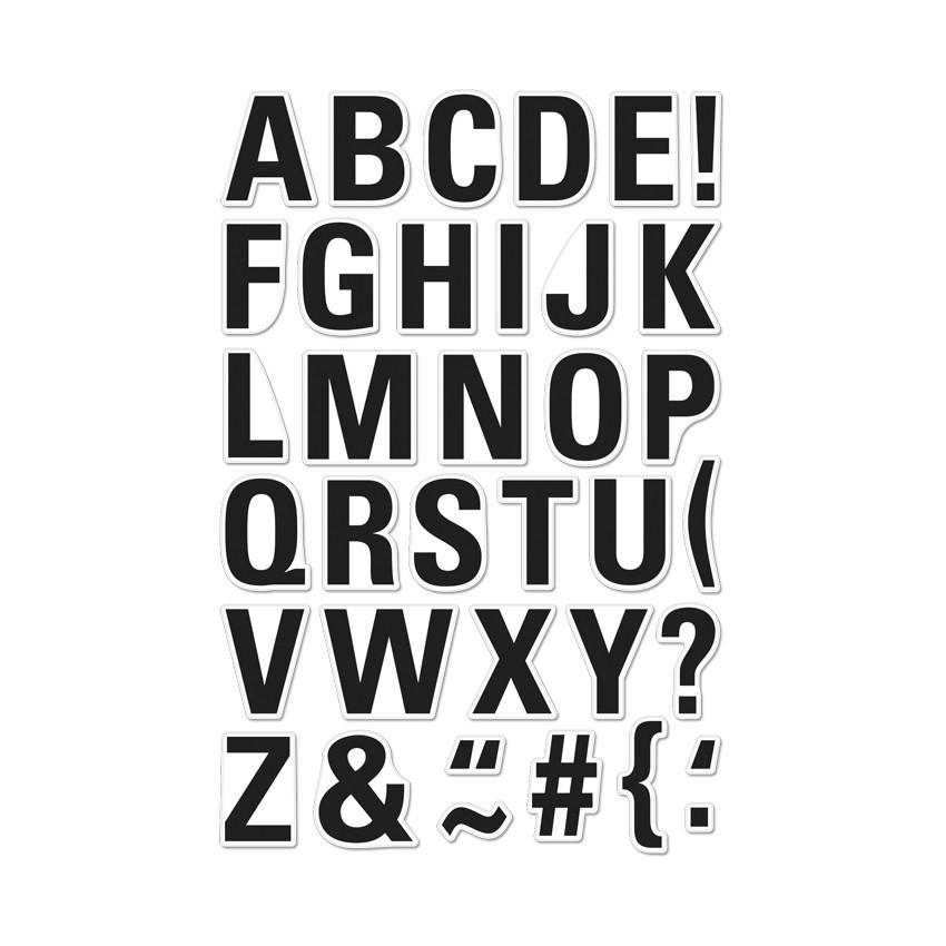 Luggage Tag Alphabet