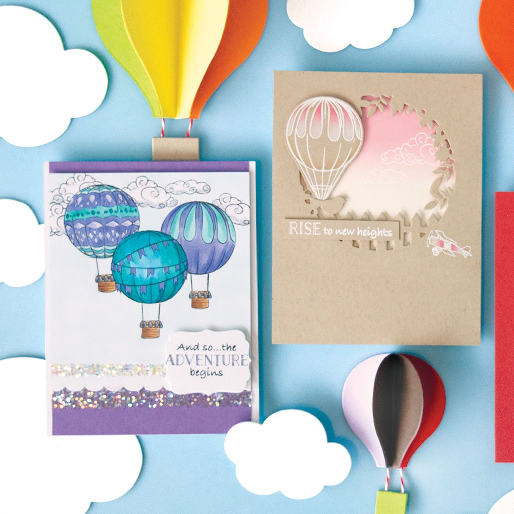 DI609 Sky's The Limit Balloons Frame Cuts (B)