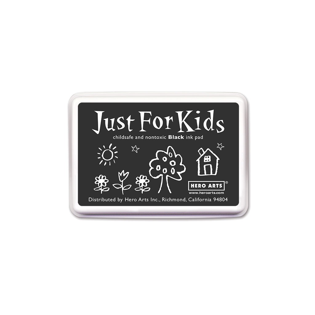 CS100 Just For Kids Black Ink Pad