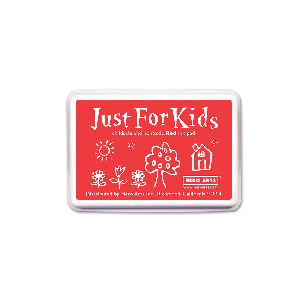 CS103 Just For Kids Red Ink Pad