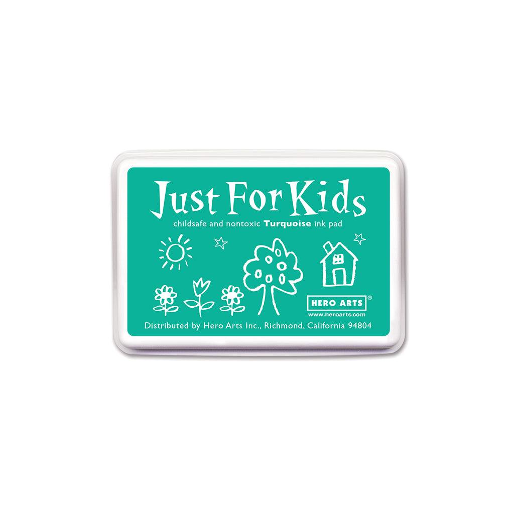 CS106 Just For Kids Turquoise Ink Pad