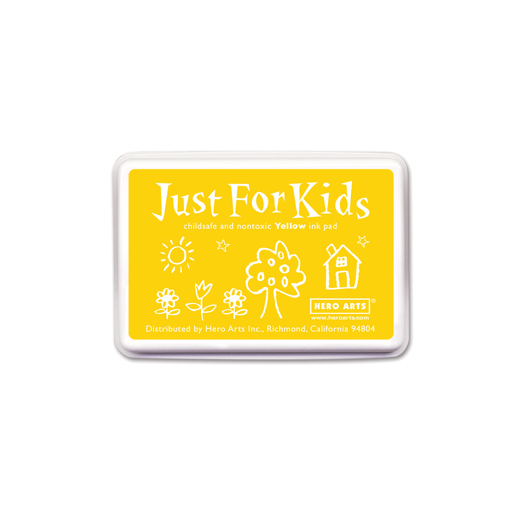 CS111 Just For Kids Yellow Ink Pad