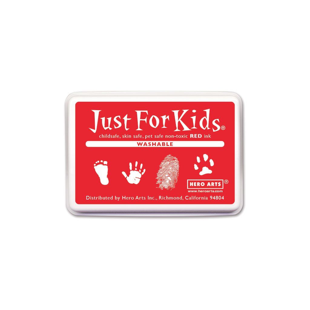 CS129 Just for Kids Washable Red