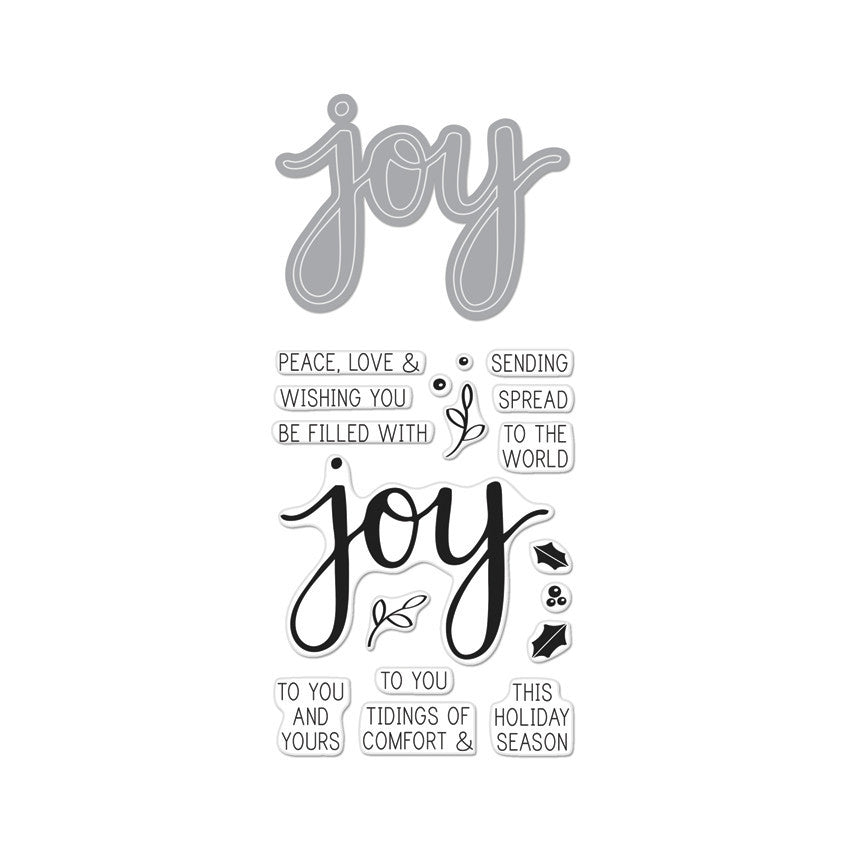 DC169 Joy Stamp & Cut