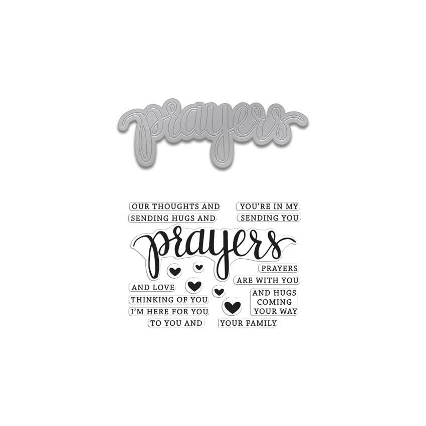 DC183 Prayers Stamp & Cut