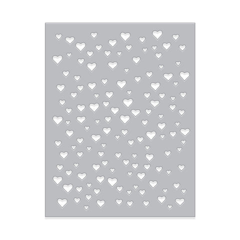 DI348 Heart Confetti Fancy Die