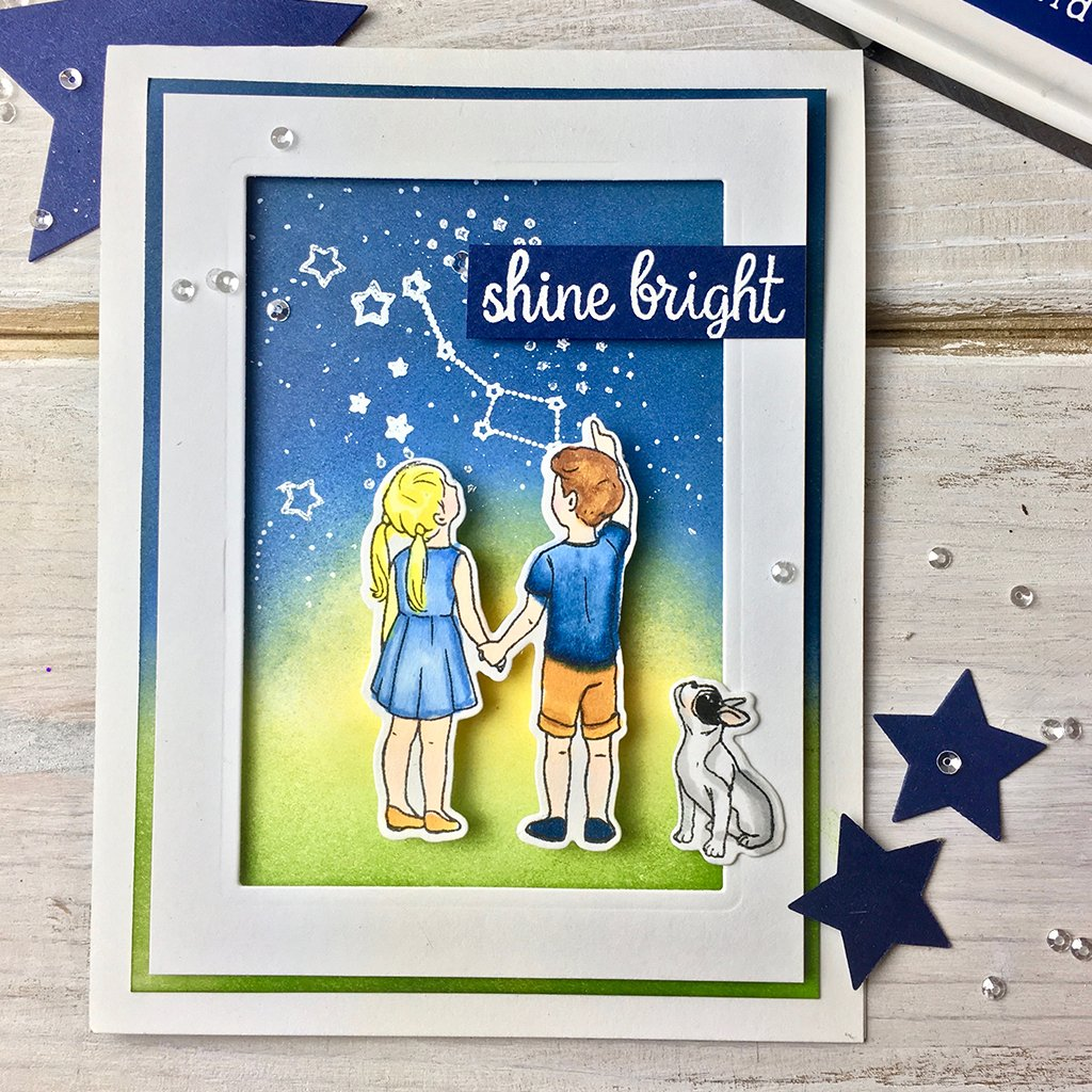 DI586 Lucky Star Frame Cuts (B)