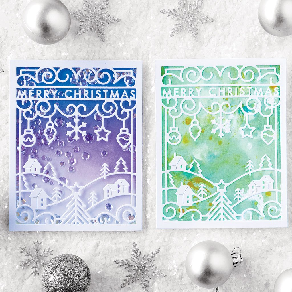 DI657 Merry Christmas Cover Plate (F)
