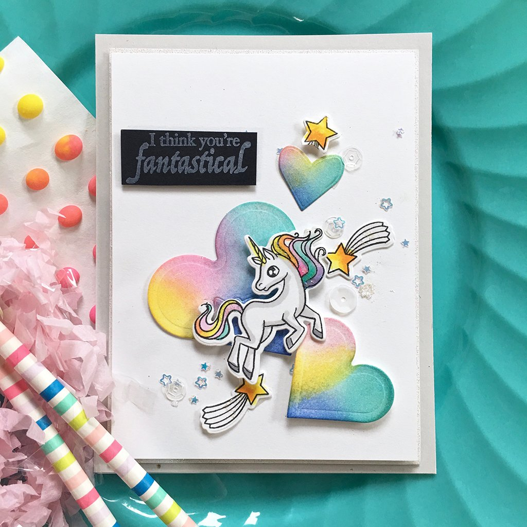 DI684 Dragons & Unicorns Frame Cuts (C)