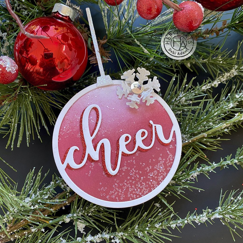 DI792 Cheer Ornament Fancy Die (C)
