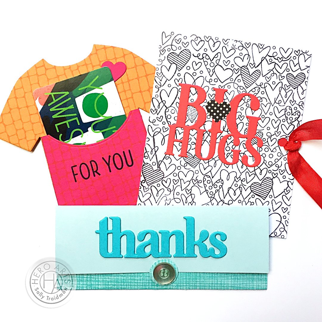DC283 Big Hugs Stamp & Cut