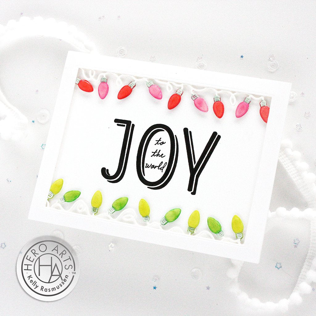 G6433 Joy to the World Mixed Font