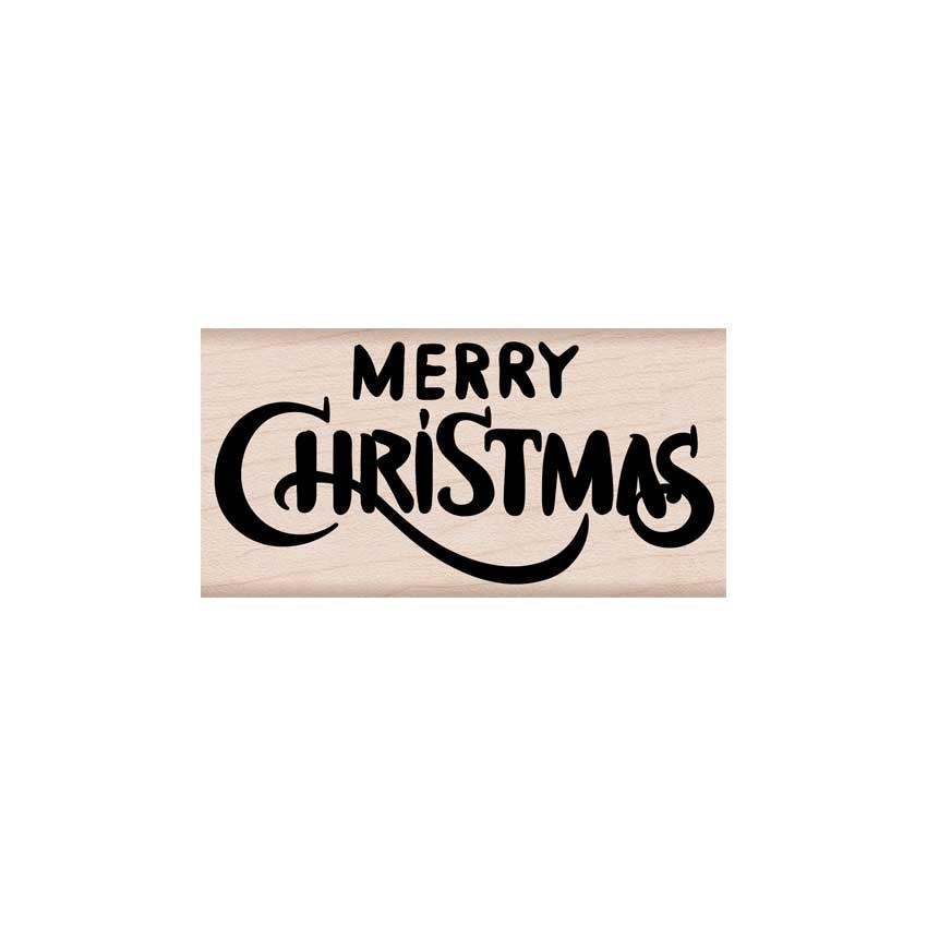 H6178 Merry Christmas Calligraphy