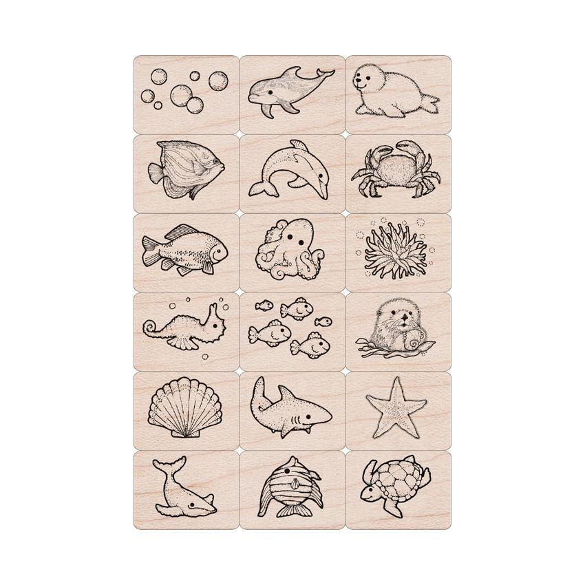 LL389 Sea Life Ink 'n' Stamp