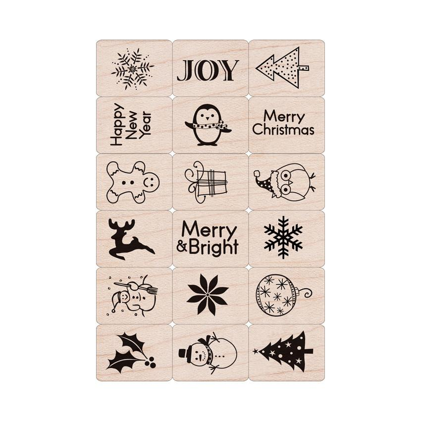 LL795 Merry Christmas Ink 'n' Stamp