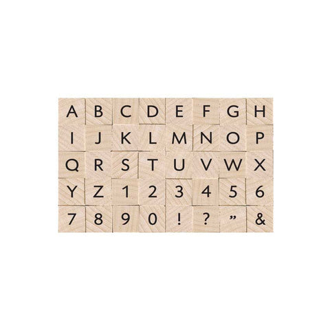 LP405 Essential Uppercase Letters & Numbers