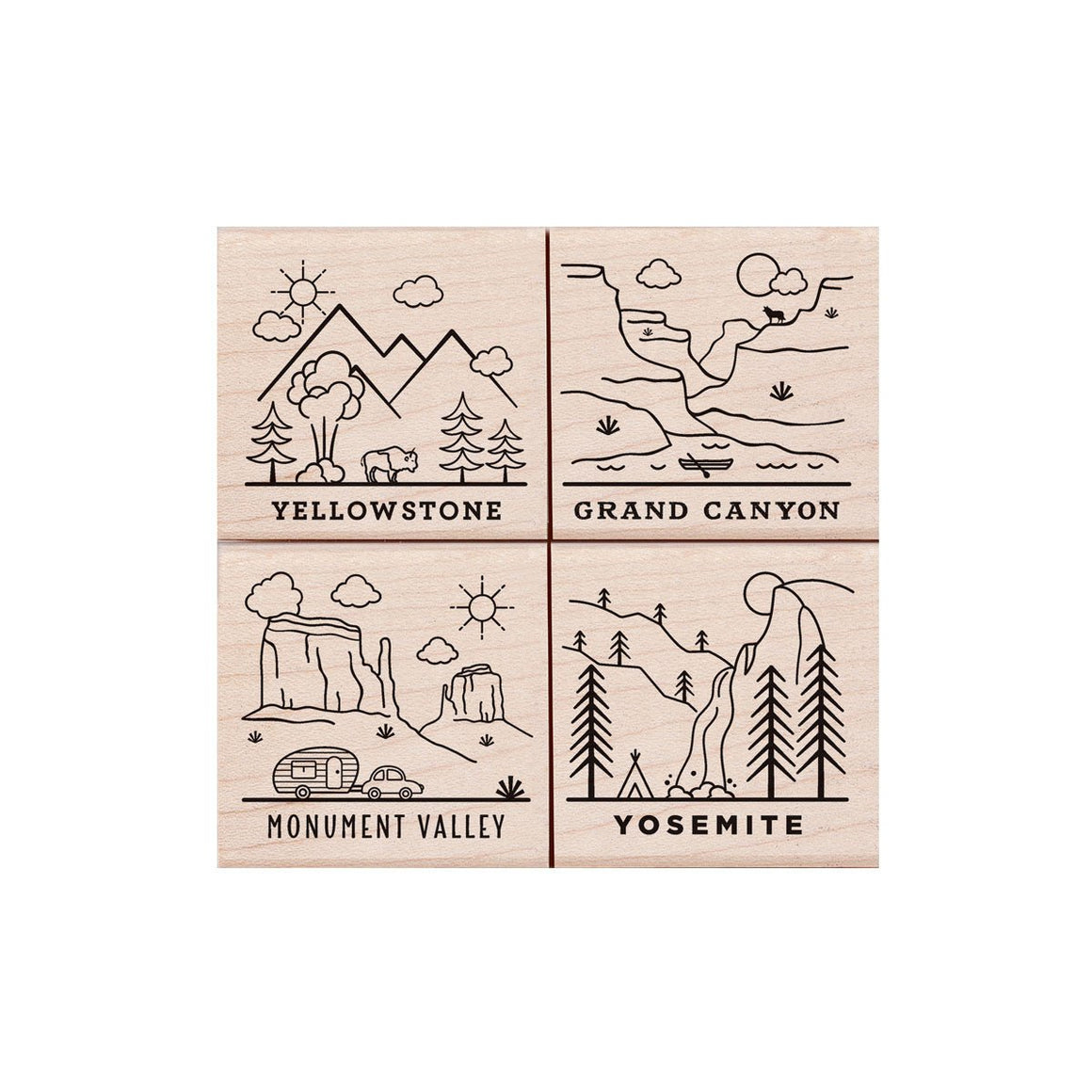 LP445 National Parks Poetic Prints