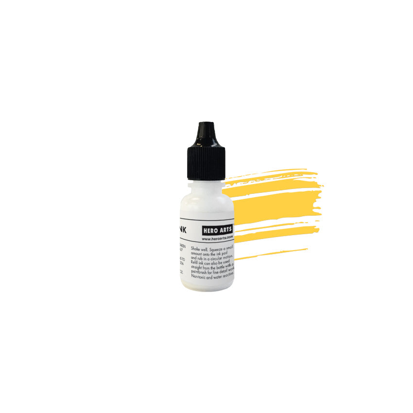 Lemon Drop Reactive Ink Reinker
