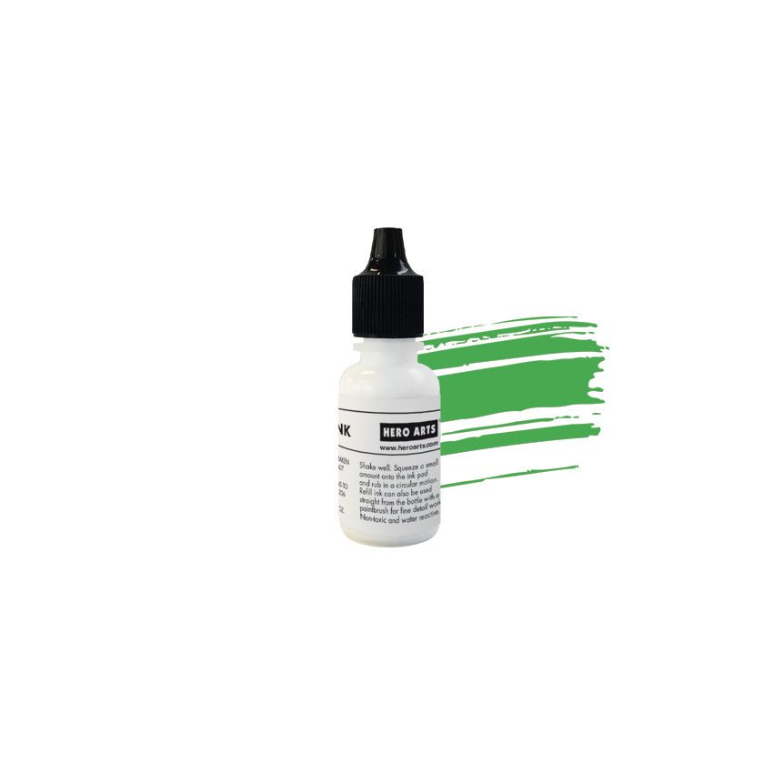 Green Apple Reactive Ink Reinker