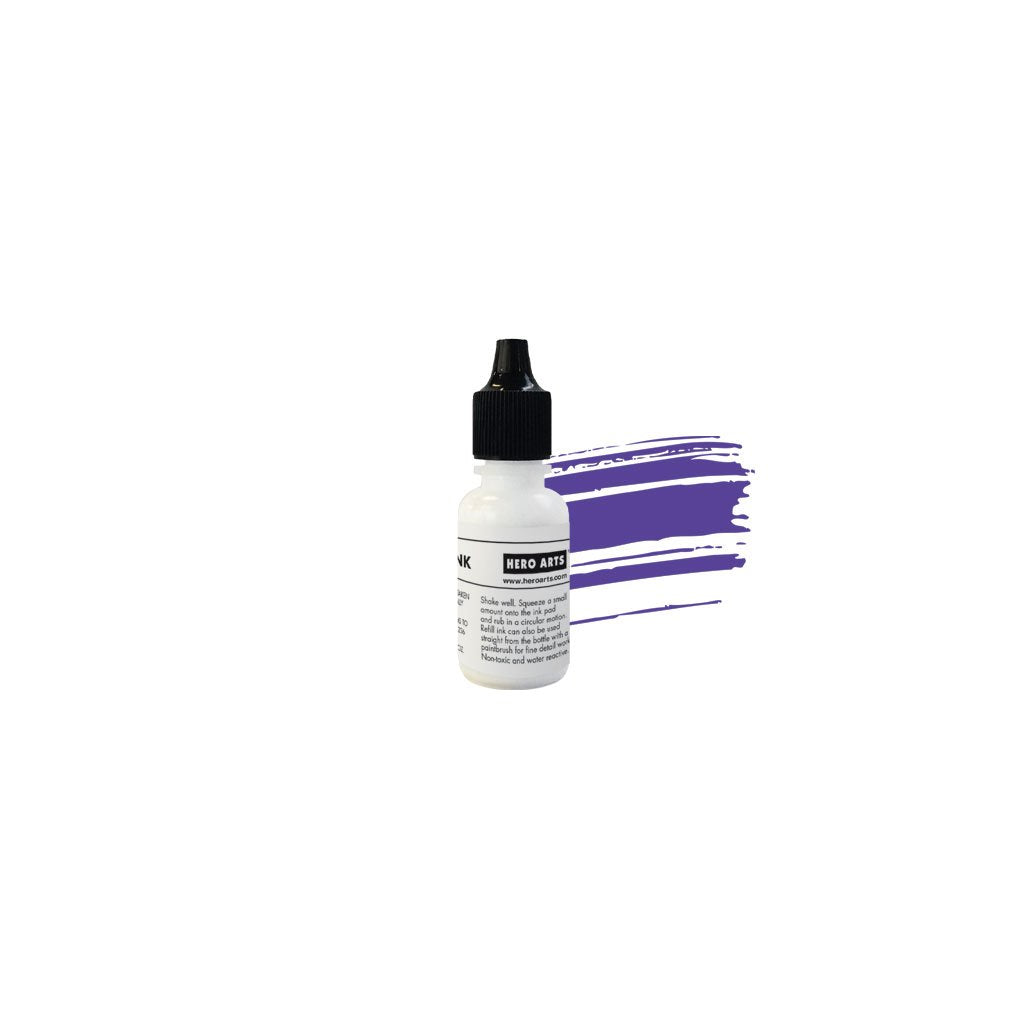 NK437 Purple Galaxy Reactive Ink Reinker