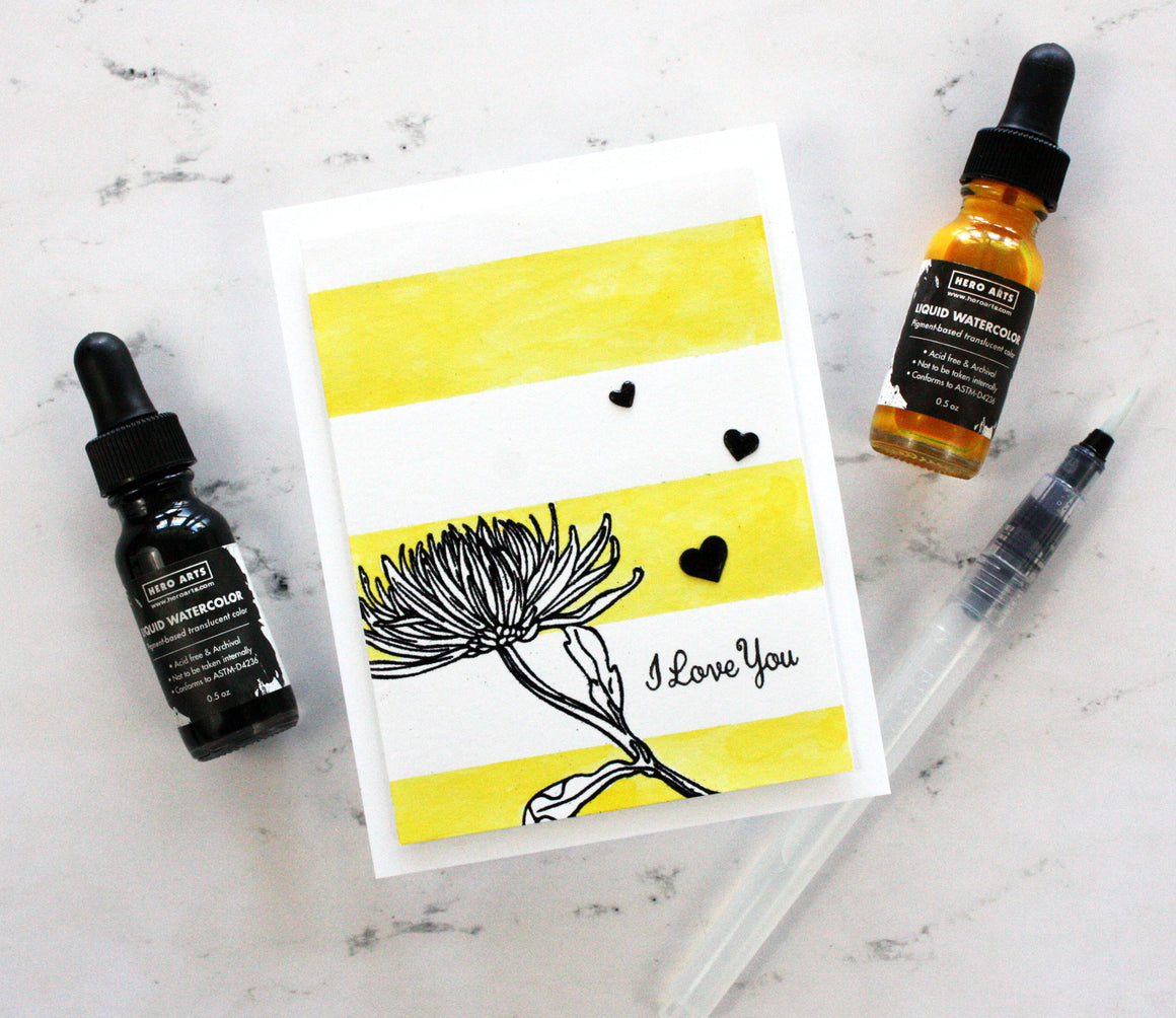 PD110 Liquid Watercolor Dandelion