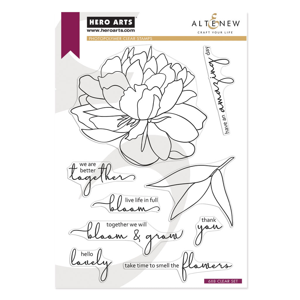 HA + Altenew Bloom & Grow