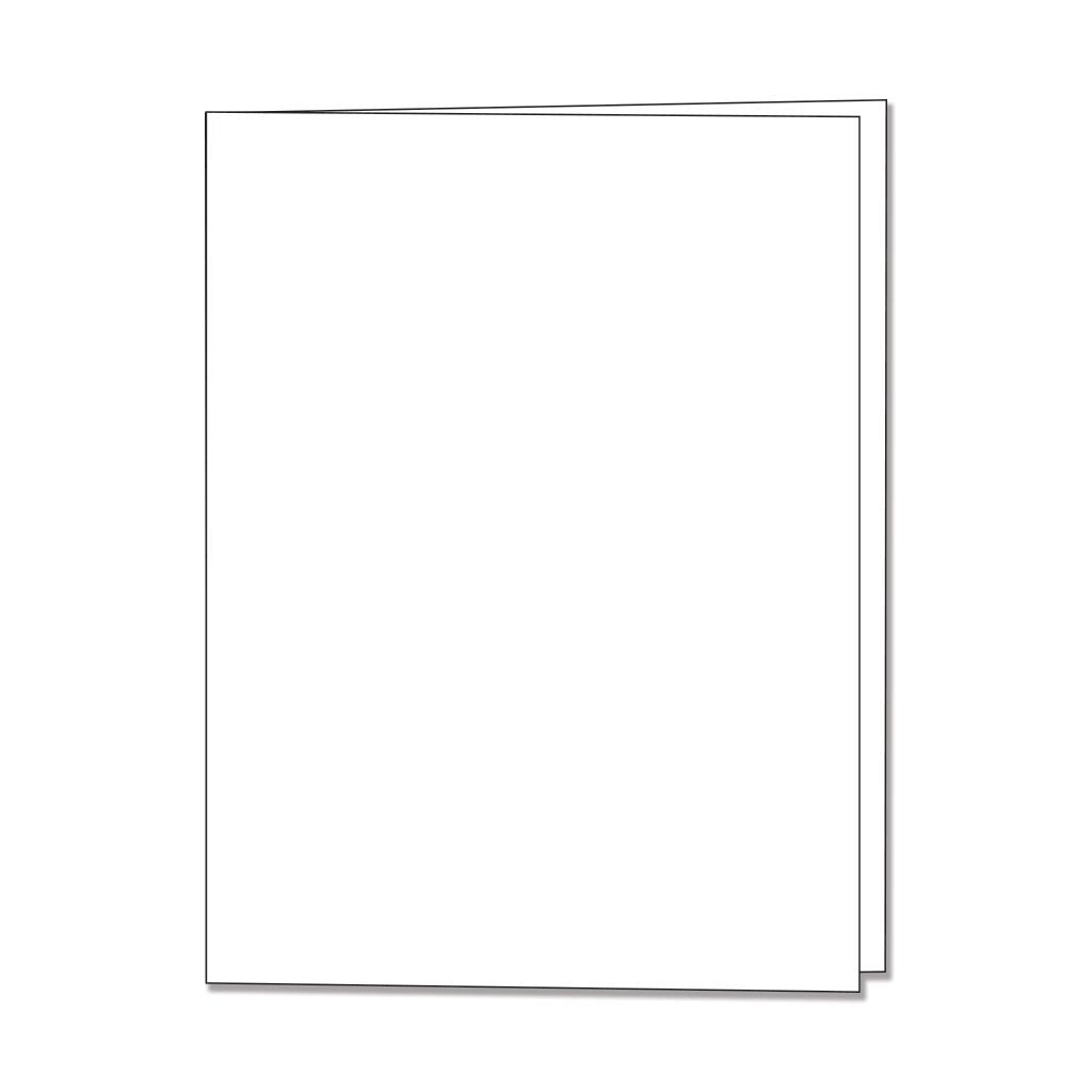 PS406 Dove White Side Folded Card