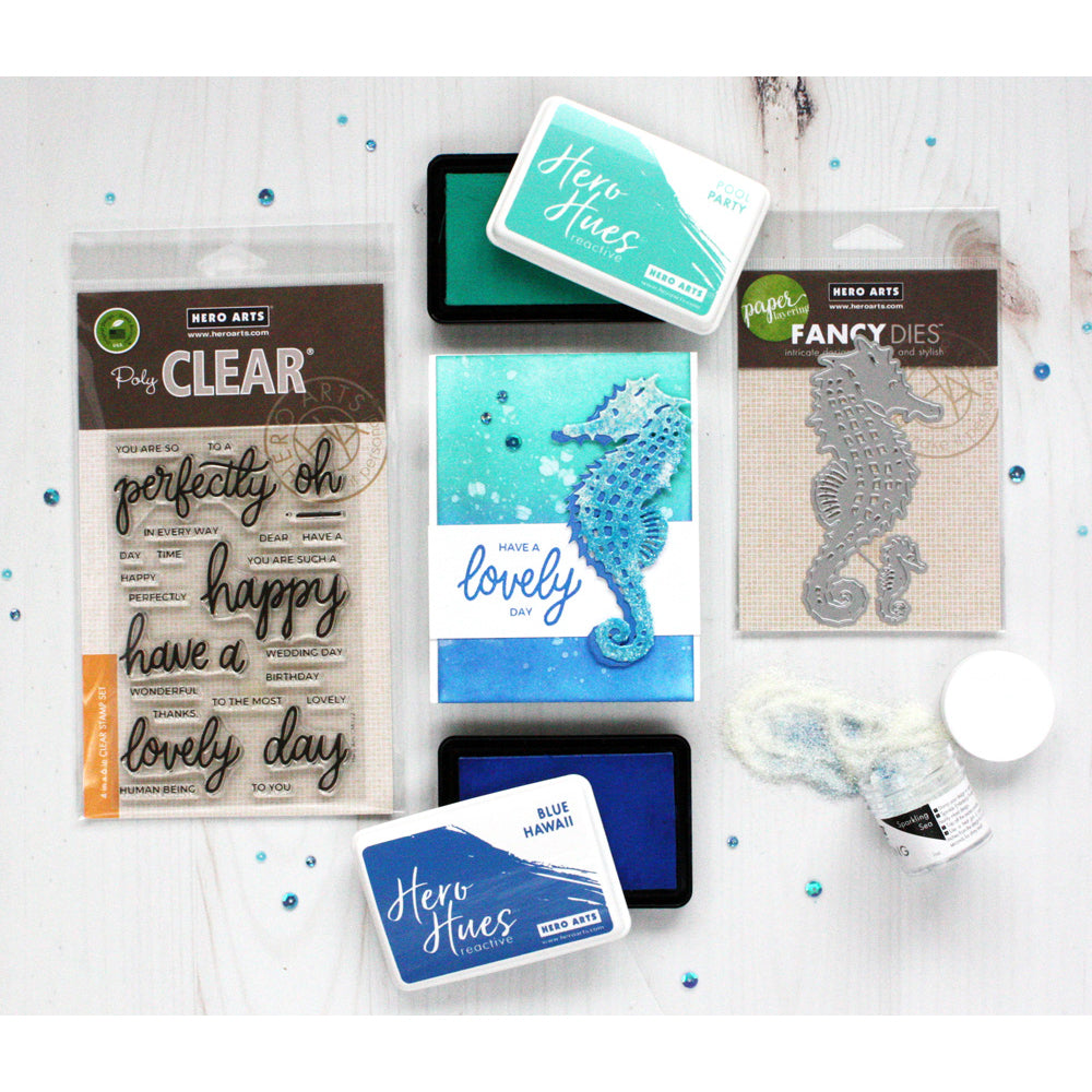 SB245 Reactive Inks & Embossing on Everyday Cards Kit