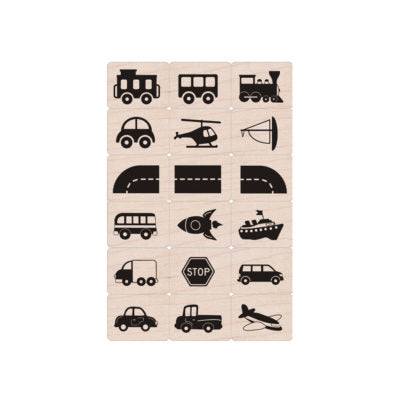 LP492 Toy Vehicles Ink 'n' Stamp