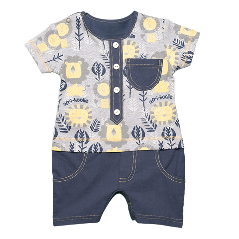 Lion Sunshine Romper - Kiboko Kids