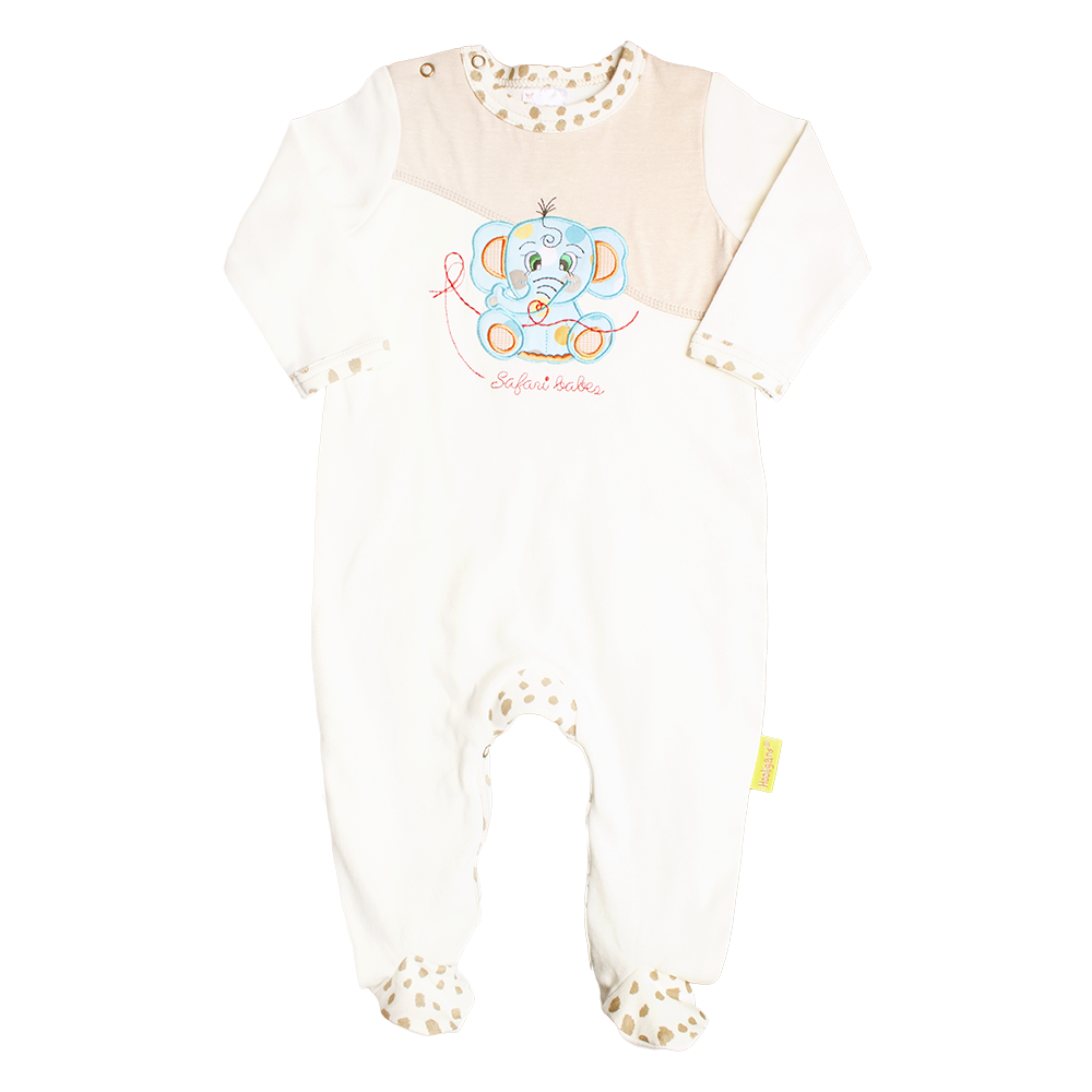 Infant Boys Applique babygrow - Kiboko Kids