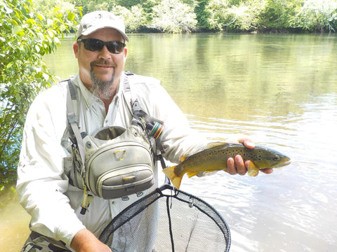 Guided Fly Fishing Trip On The Chattahoochee River