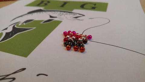 Tungsten Beads - Countered 25 pack