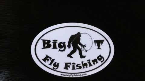 Big T Sticker - Big T Fly Fishing