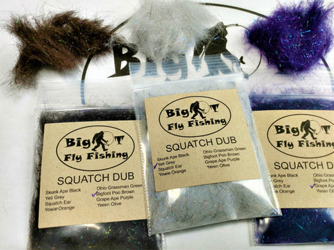 Big T Squatch Dub - Big T Fly Fishing