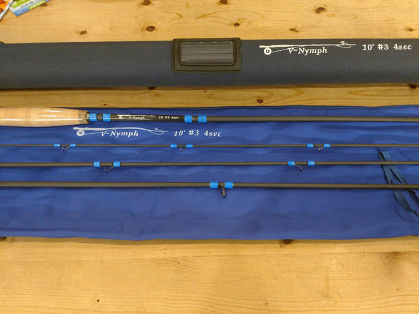 10 Foot 3 Weight Nymphing Rod - 4 piece - Big T Fly Fishing