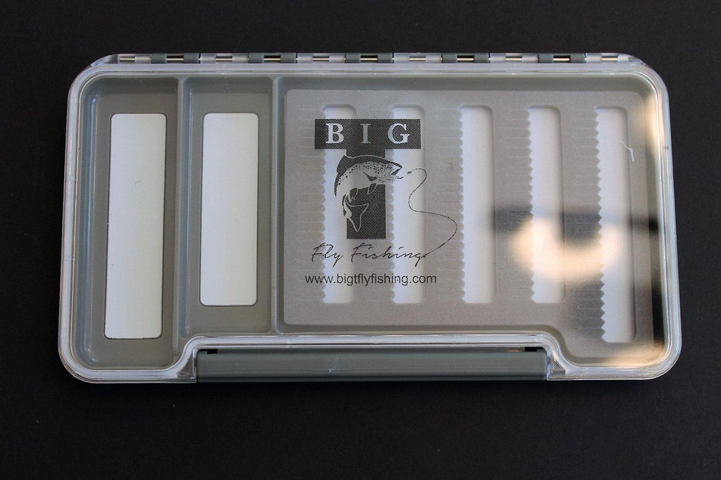Combo slotted/magnetic thin fly box - Big T Fly Fishing