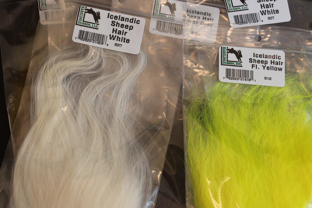 Icelandic Sheep Hair - Big T Fly Fishing