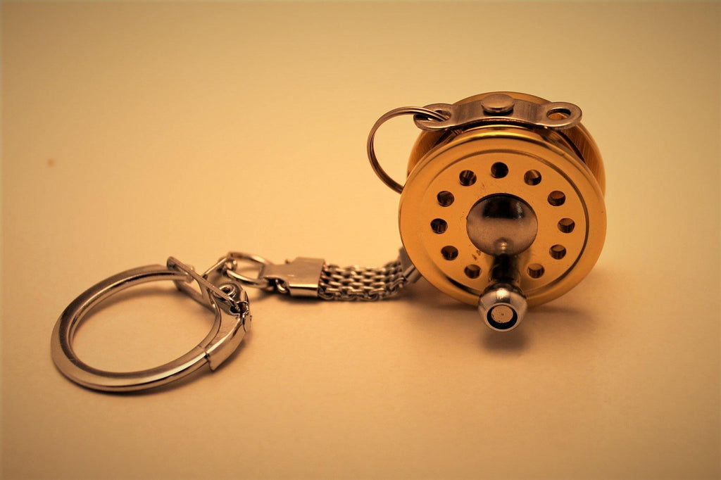 Fly Reel Keychain - Big T Fly Fishing