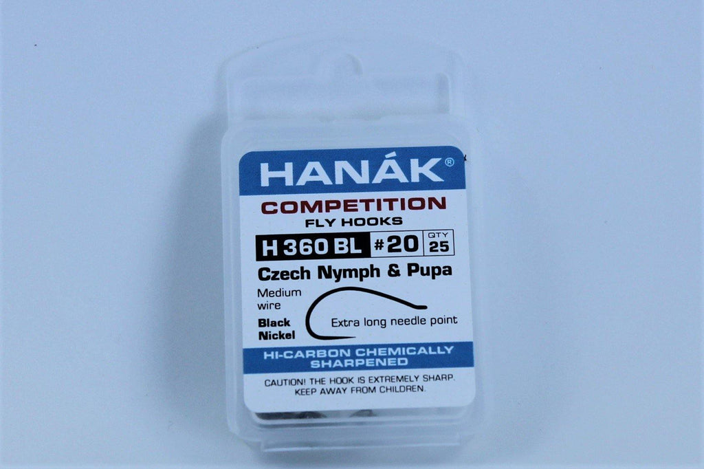 Hanak Competition Hooks Model 360 Nymph and Pupa