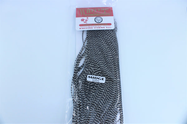 Whiting Midge 1/2 Saddle Silver Grade