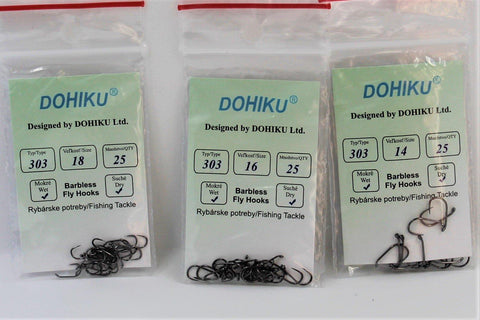 Dohiku 303 Barbless Nymph/Wet Fly Hook