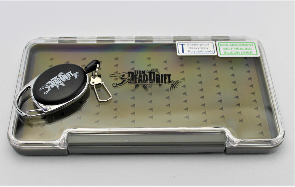 Team Dead Drift Fly Box/Zinger Combo - Big T Fly Fishing