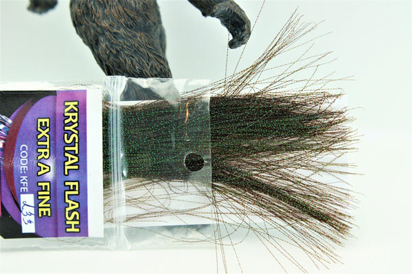 Hends Extra Fine Krystal Flash - Big T Fly Fishing